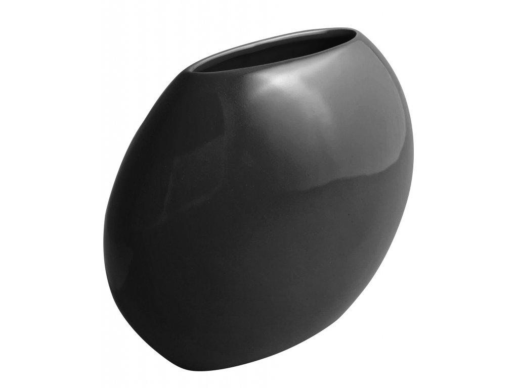 Váza 'even' (24x9,5x20cm), černá