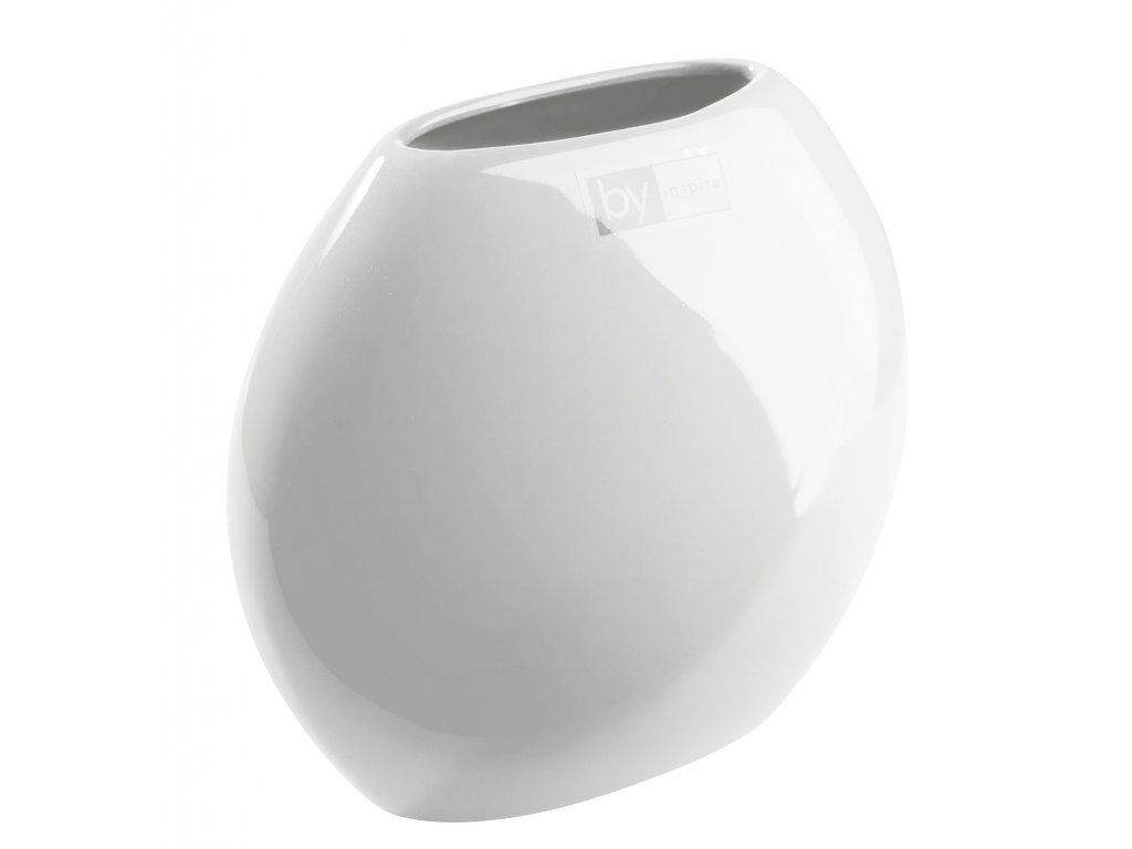 Váza 'even' (16,5x8,5x15cm), bílá