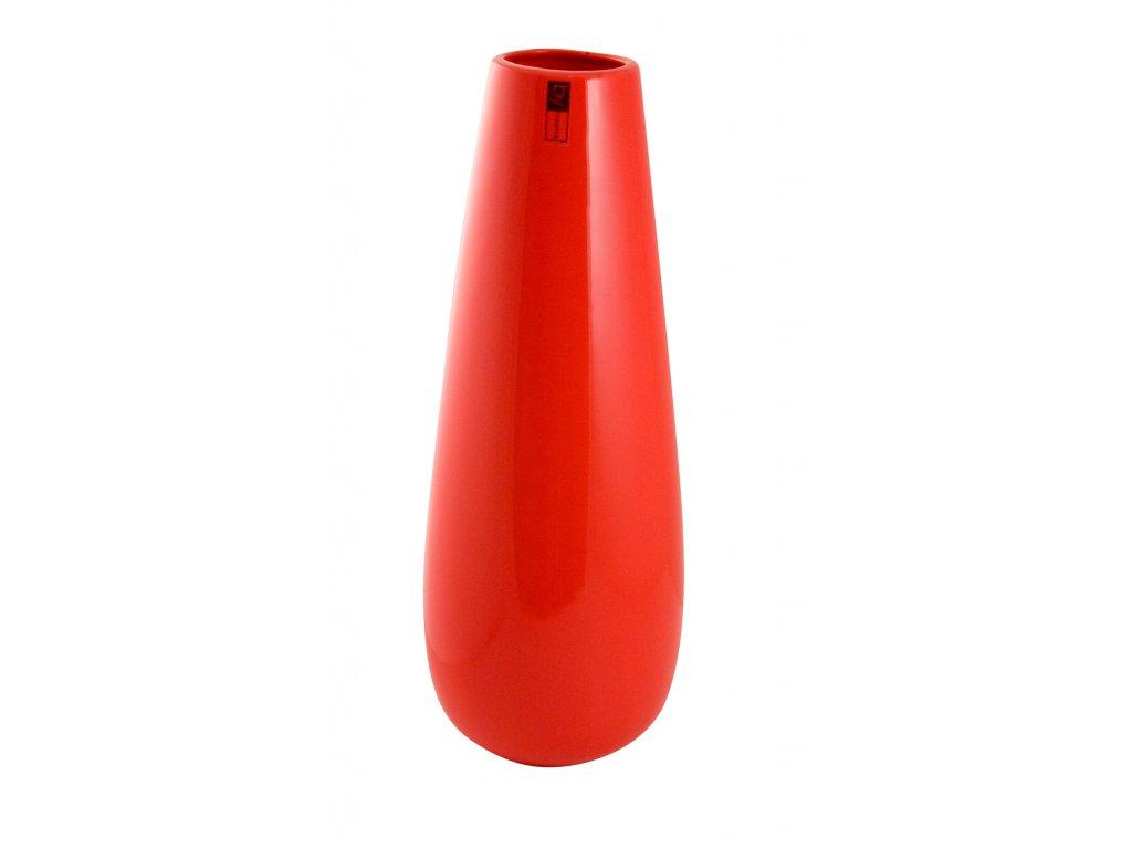 Váza 'Drop' (16x41cm), červená