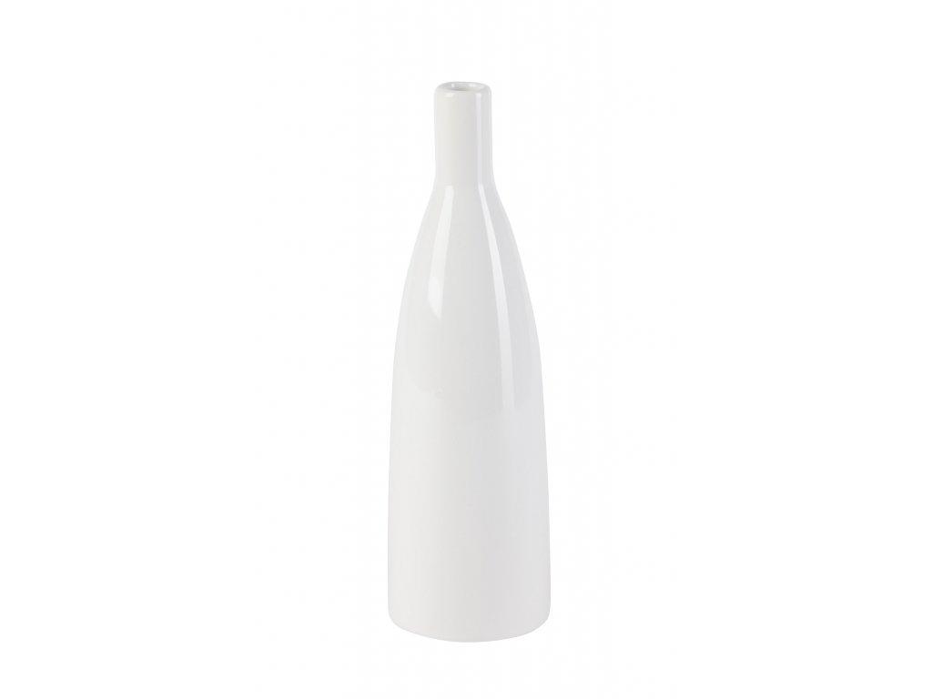 Váza 'Smart' (8x8x26,5 cm), bílá