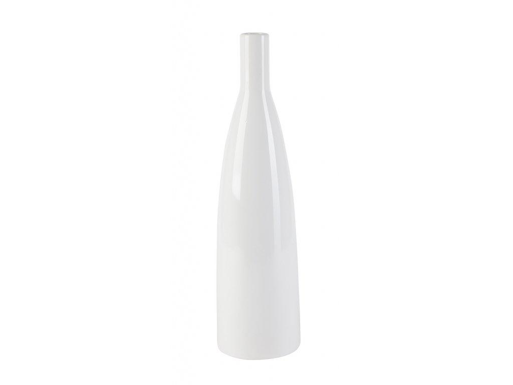Váza 'Smart' (12x12x44,5 cm), bílá