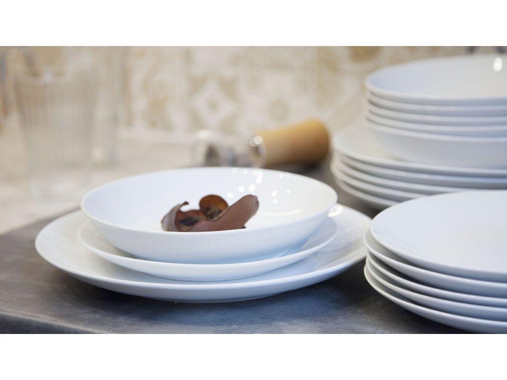 Konvice čajová 1300ml,Classico, bílá