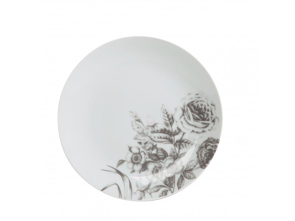 Dezertní talíř Rose White 20cm