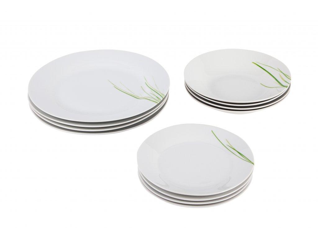 12dílná jídelní souprava Grass