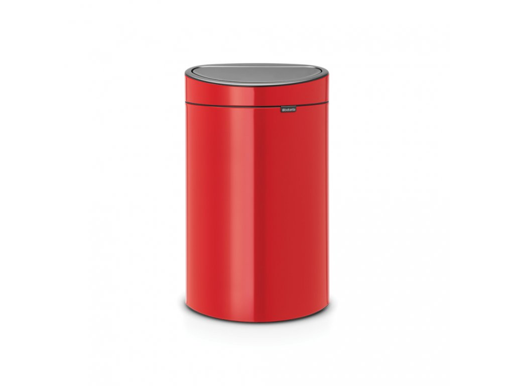 Touch Bin New, 40L Passion Red 8710755114960 Brabantia 96dpi 1000x1000px 7 NR 13347