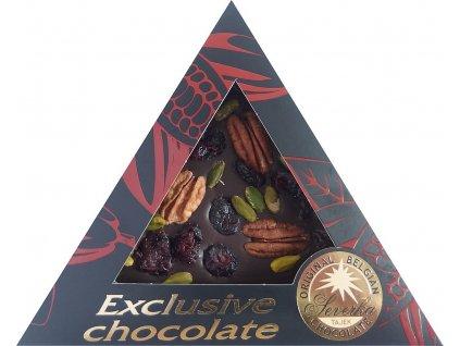 10925 severka horka cokolada s pekanovymi orechy pistaciemi a klikvou 55g