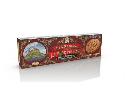 10949 susenky la mere poulard chocolate chip butter biscuits papir 125g
