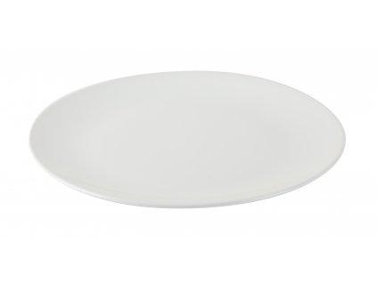 Talíř mělký Simple 26cm, bílá