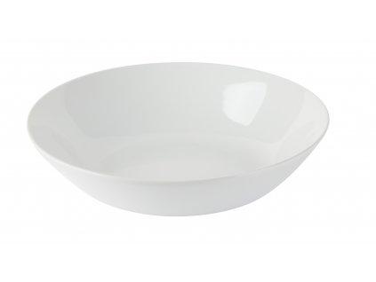 Talíř polévkový Simple 22cm, bílá