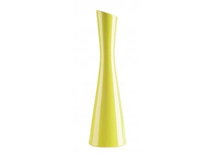 Váza 'X' ( 10x35cm), světlezelená