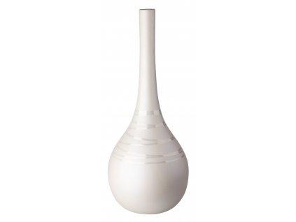 Váza Lustral (18x45cm), smetanová