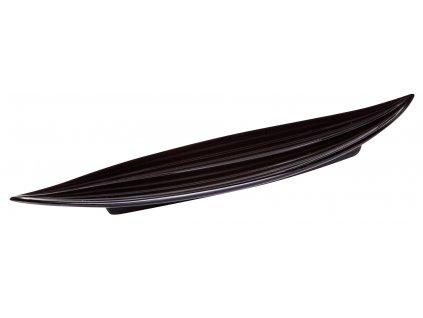 Miska Leaf (30x9x3cm), černá