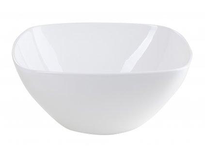 Mísa Quadro (21x9cm), bílá