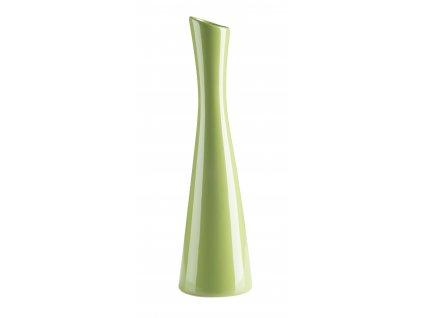 Váza 'X' ( 8x30cm), zelená
