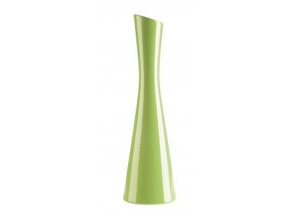 Váza 'X' ( 10x35cm), zelená