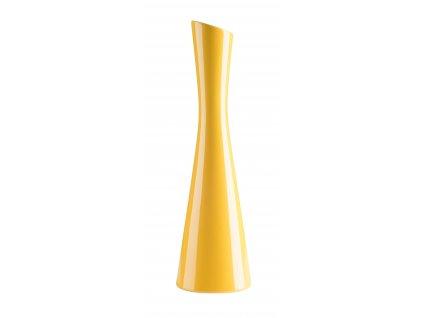 Váza 'X' ( 10x35cm), žlutá