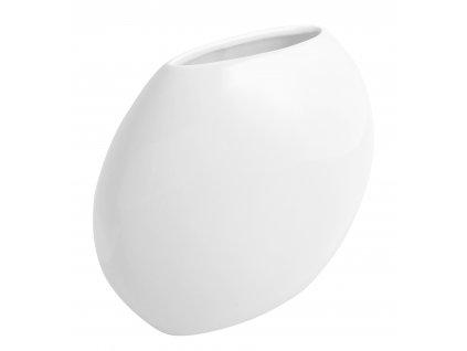 Váza 'even' (24x9,5x20cm), bílá