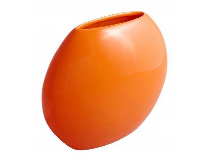 Váza 'even' (24x9,5x20cm), oranžová