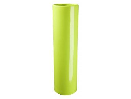 Váza 'Slot' (10x35cm), světle zelená