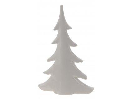 Vánoční strom keramický, bílá