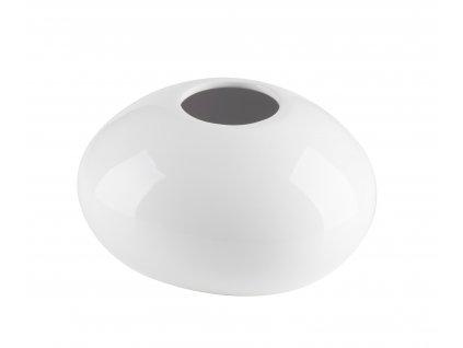 Váza 'Stone' (18x15x10cm), bílá