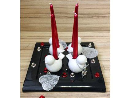 Tác,,Club'' (32X32X3cm), černá