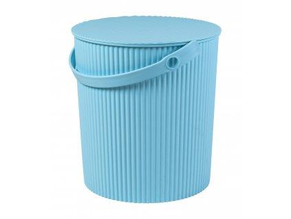 Úložný box/stupínek (30,8x33,1cm), modrá