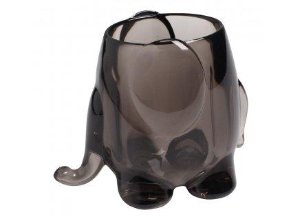 Univers.stojan - slon, šedá