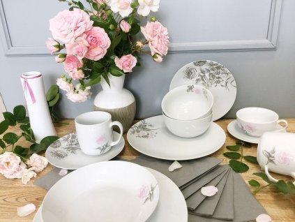 Konvice kávová 1300ml , Rose White