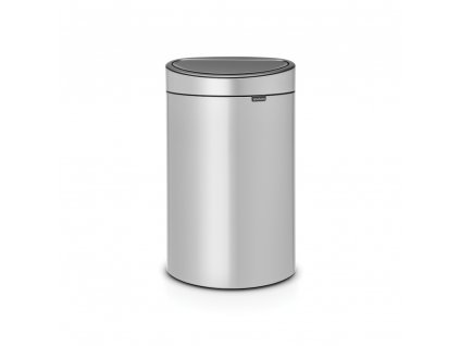 Touch Bin New, 40L Metallic Grey 8710755114922 Brabantia 96dpi 1000x1000px 7 NR 13339