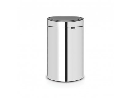 Touch Bin New, 40L Brilliant Steel 8710755112881 Brabantia 96dpi 1000x1000px 7 NR 13276