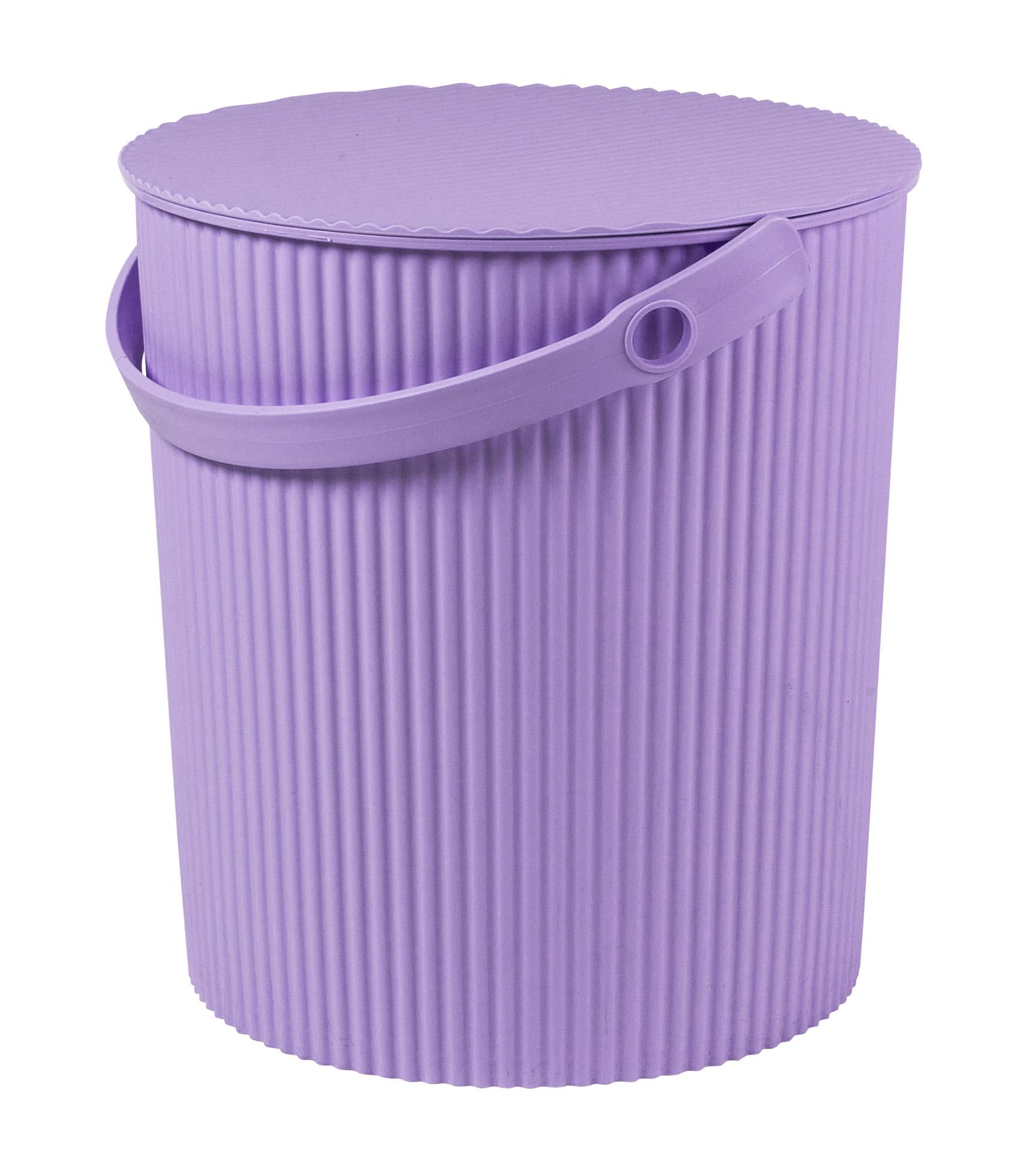 Úložný box/stupínek (30,8x33,1cm), fialová