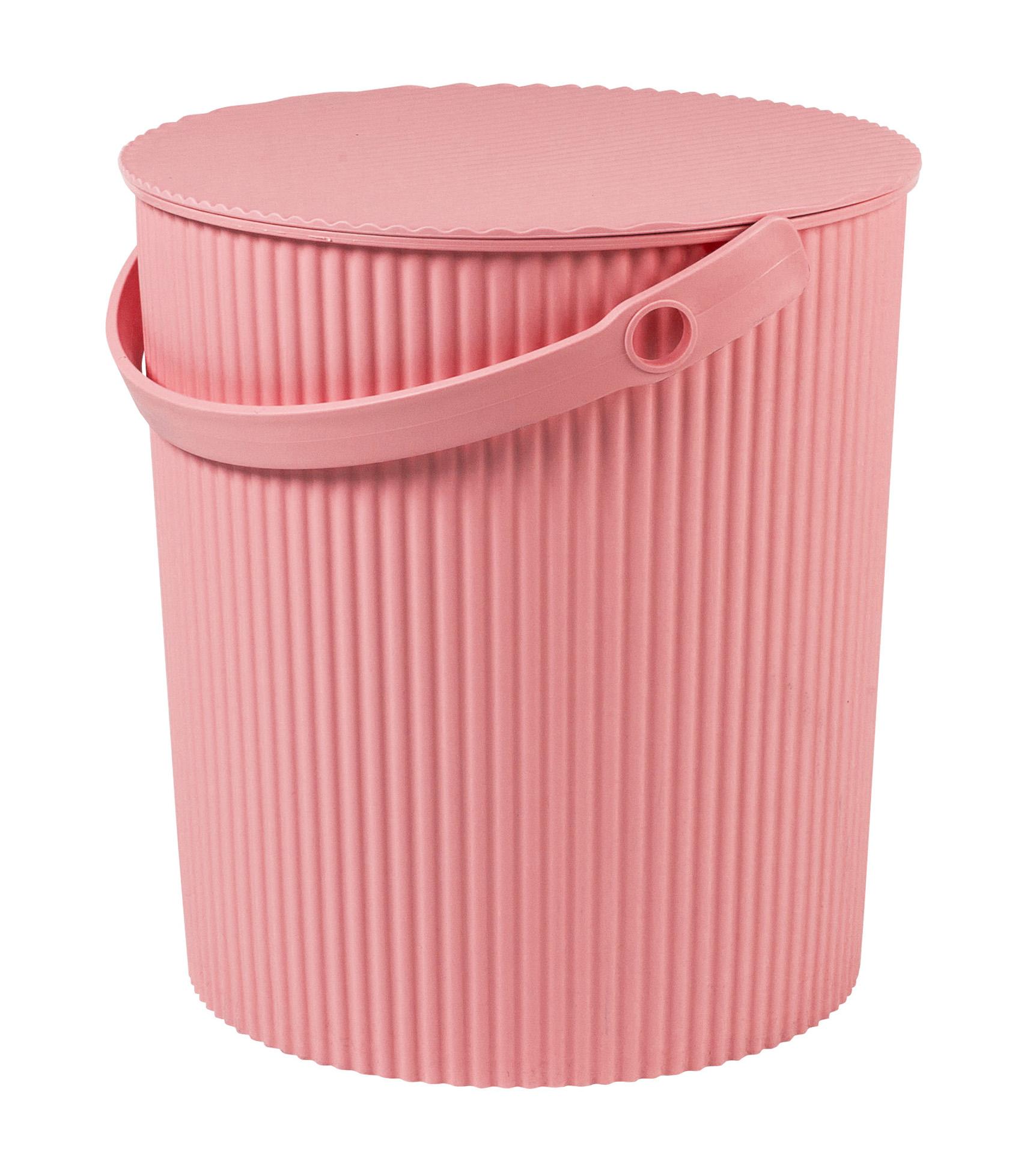 Úložný box/stupínek (30,8x33,1cm), růžová
