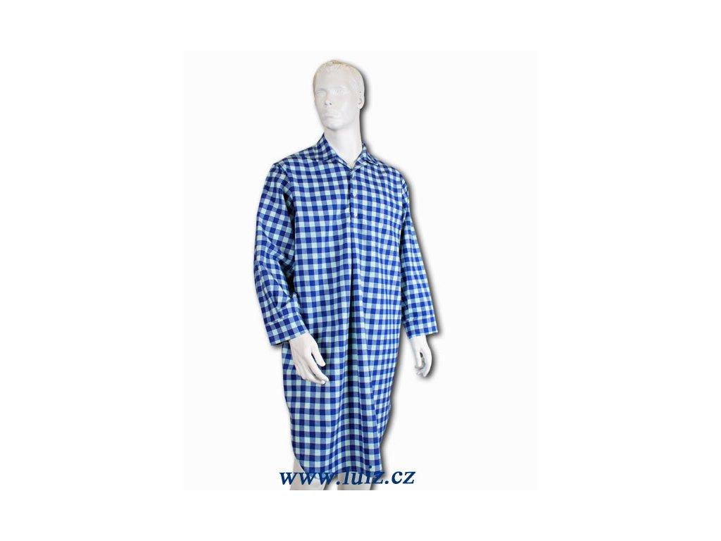 Flanelová noční košile Hubert 994