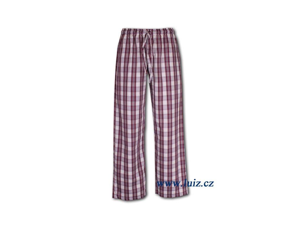 Dámské popelínové kalhoty 56
