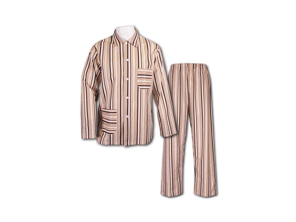 Plátěné pyžamo Karel 37