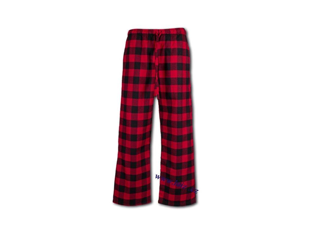 Dámské flanelové kalhoty 1139