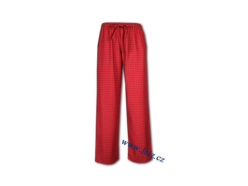 Dámské flanelové kalhoty 1509