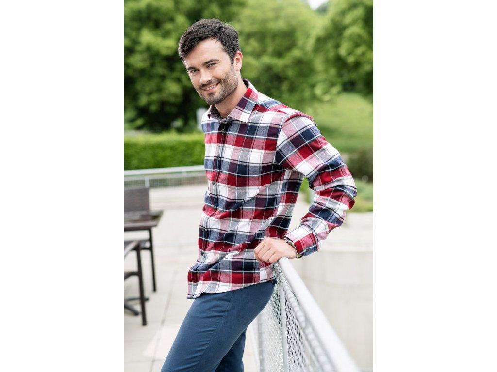 Flanelová košile Nikolas HK121