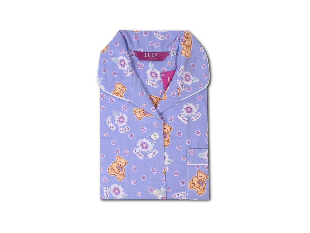 Flanelové pyžamo Kristýna Slim 63
