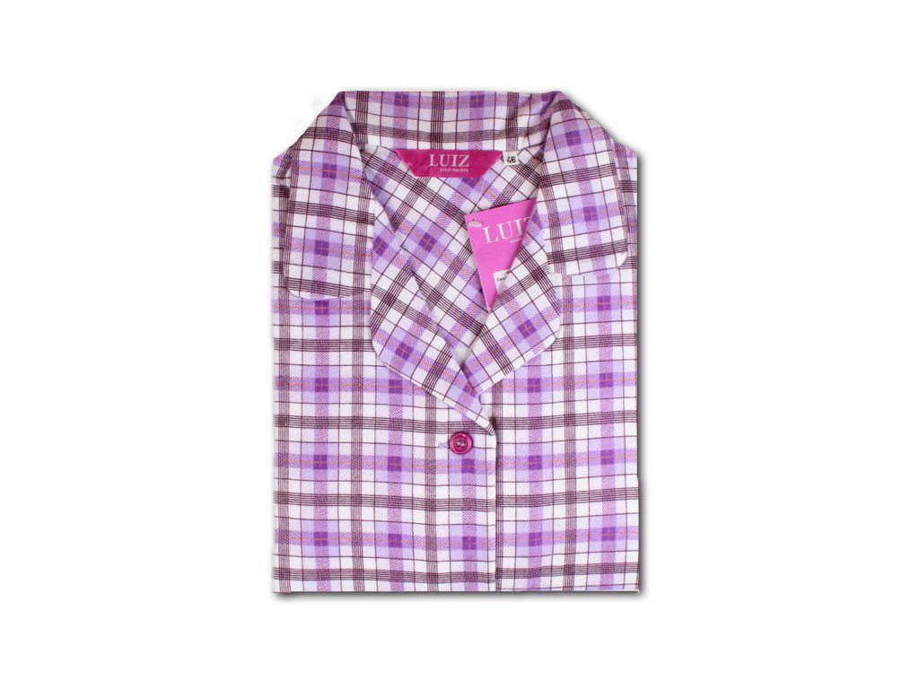 Flanelové pyžamo Kristýna Slim 64