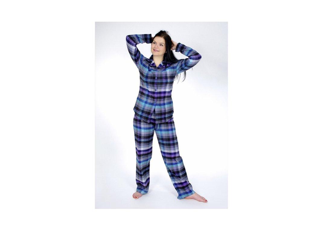 Flanelové pyžamo Sabina 82