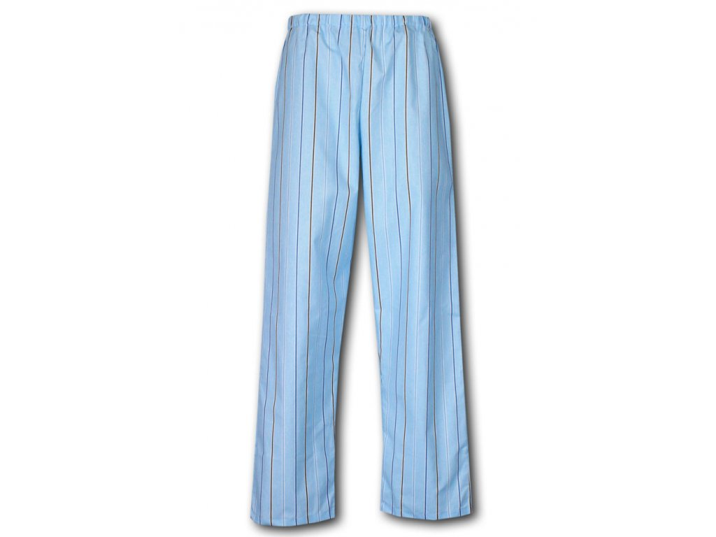 Karel 18 pyzamove kalhoty platno bavlna