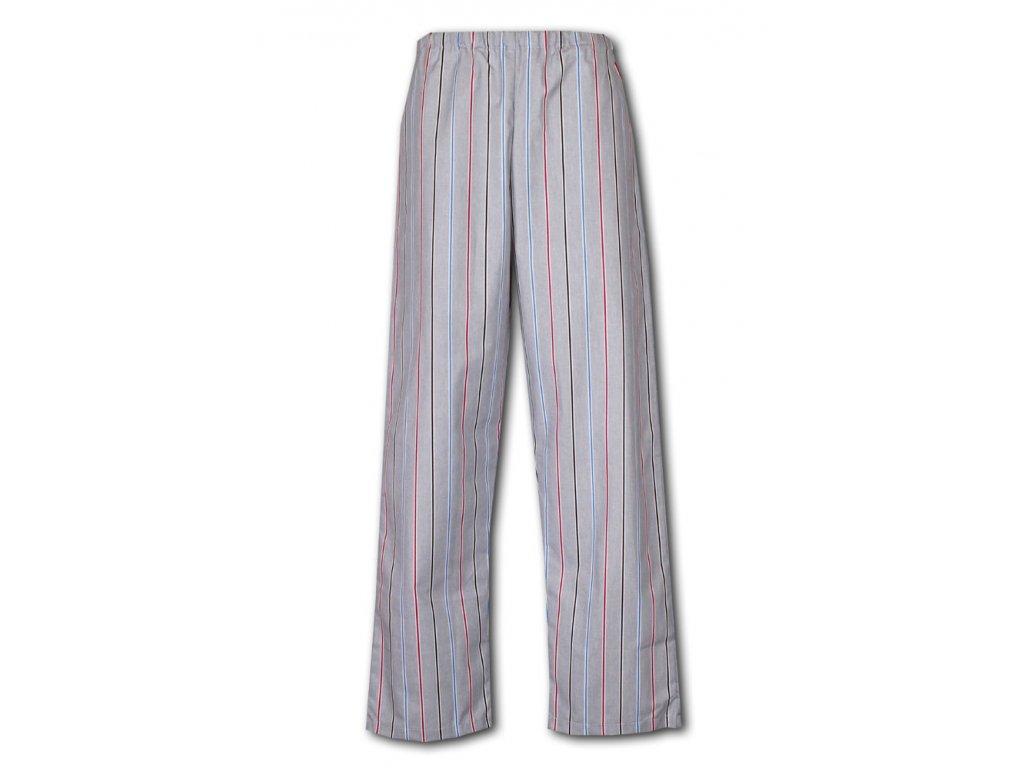 Karel 19 pyzamove kalhoty platno bavlna