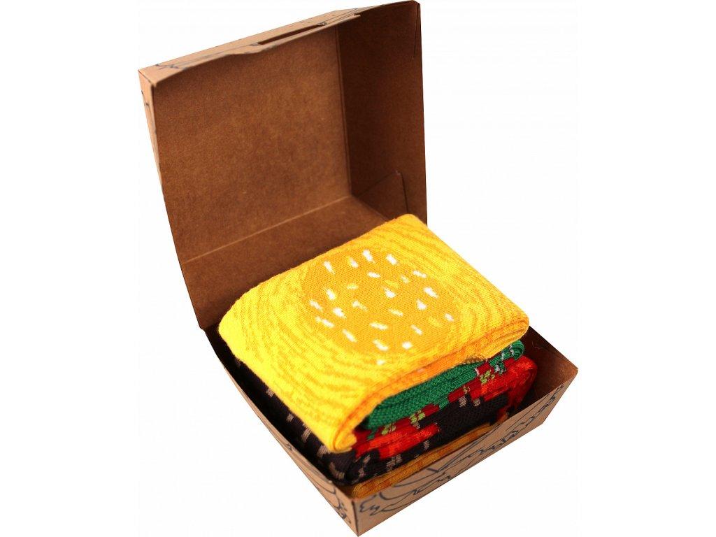 Hamburger v krabicce 1