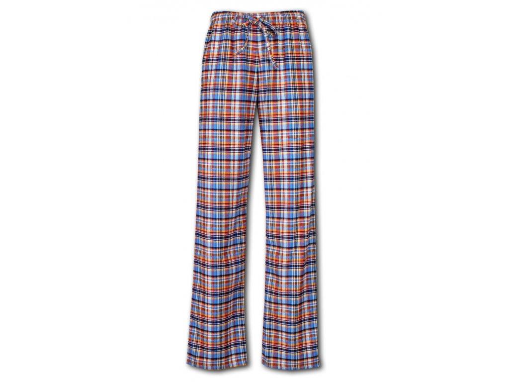 damske domaci kalhoty flanel prodloužené 1012