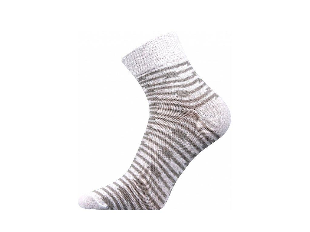 Ponožky Ivana39 Bílá