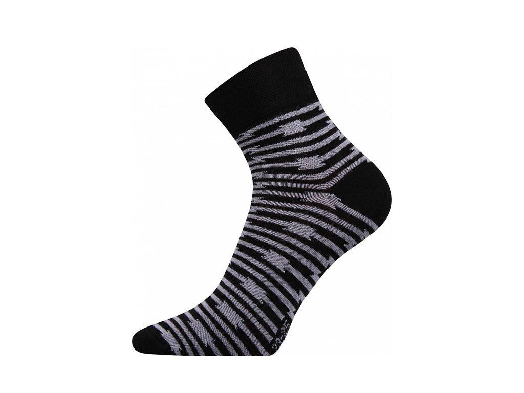 Ponožky Ivana39 Černá
