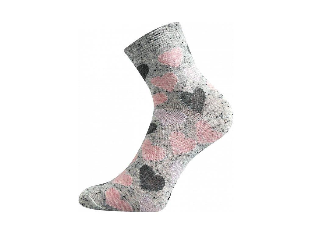 Ponožky Ivana49 Srdce