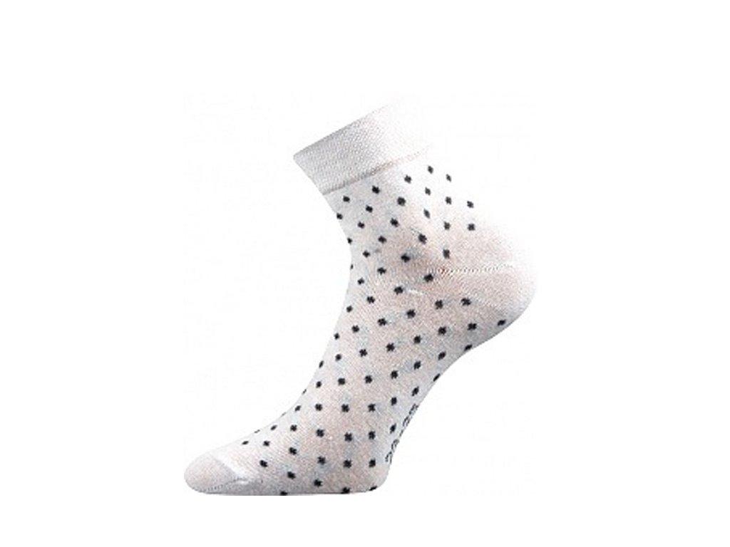 Ponožky Jana 43 Bílá